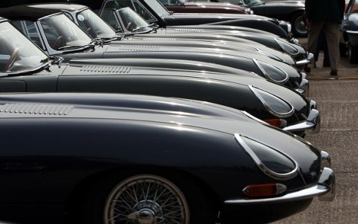 E-Type voted greatest British car Ever
