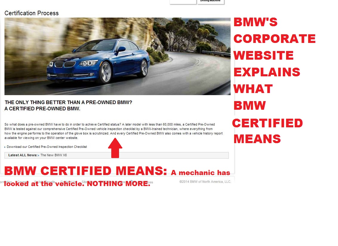 what does bmw certified mean to you eimports4less auto sales blog. Black Bedroom Furniture Sets. Home Design Ideas