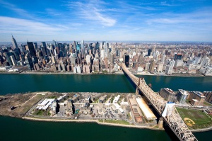 Midtown and Roosevelt  Island