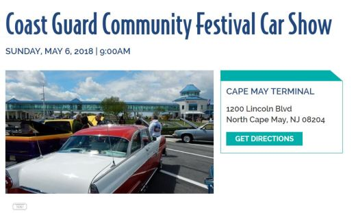 Coast Guard Car Show In NJ Tomorrow EimportsLess Auto Sales Blog - Classic car show tomorrow